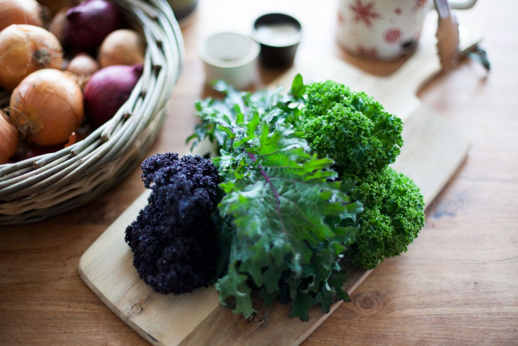 January Seasonal Table: Kale
