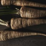 January Seasonable table - Parsnips