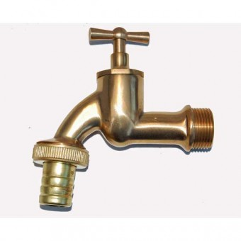 Brass taps for ther garden, geka couplings