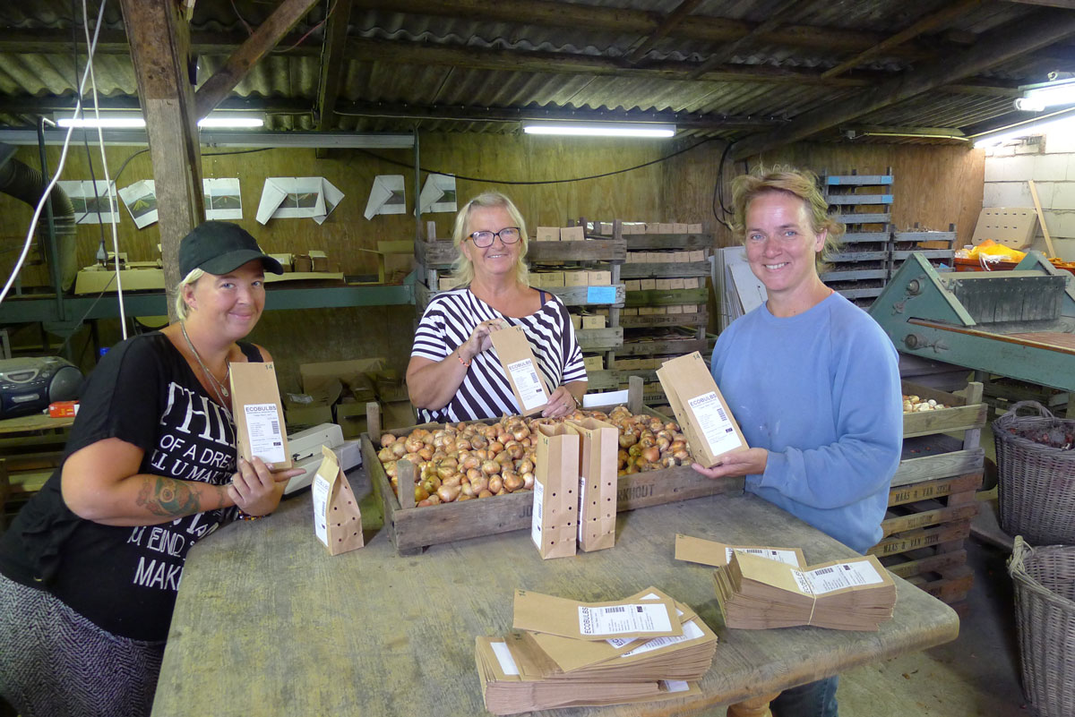 Annelies - our supplier of organic flower bulbs