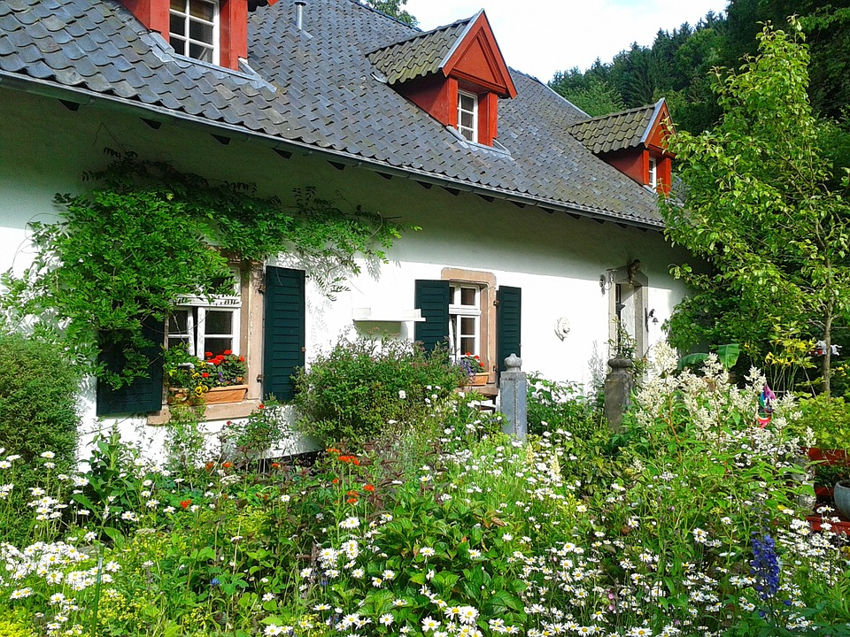 how to get a perfect garden, flower garden