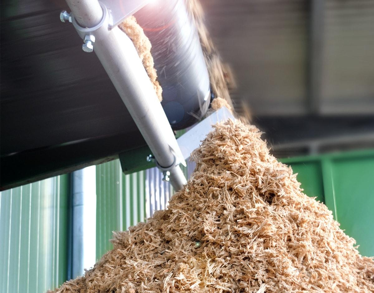 kaming wood fibre for compost